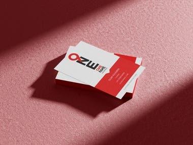Business Card and Logo for One Nine Enterprises
