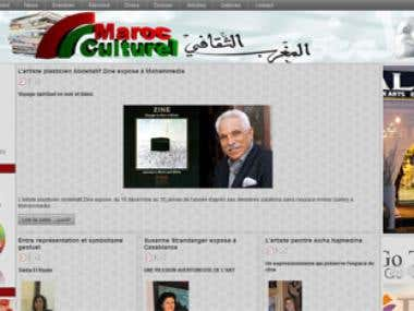 Marocculturel website