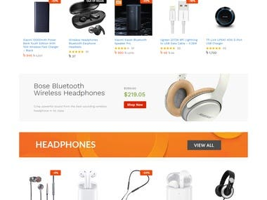 Mobile Accessories Online Store