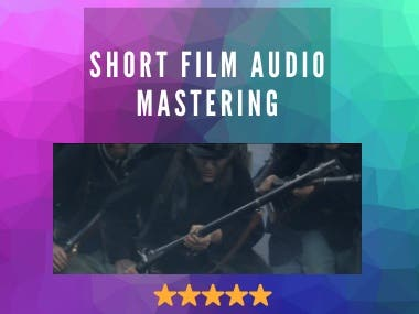 Audio Mastering for a Short Film 'Letters from War'
