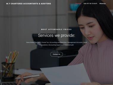 Lead Capture Website