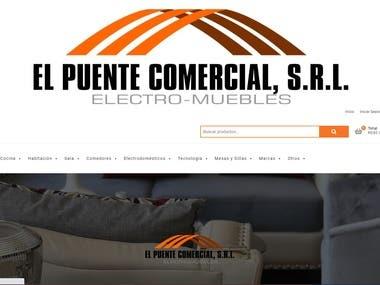 Wordpress website with Wocommerce