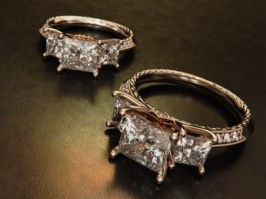 Jewelry Design & Rendering in Rhinoceros 3D