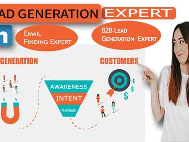 I will Linkedin lead generation and targeted lead prospect