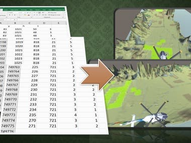Convert Numerical data to terrain