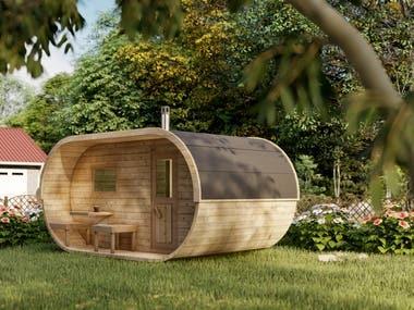 Cabin Renderings