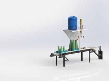 Bottle Filling Machine Design