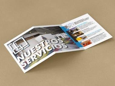 Trifold brochures - leaflets