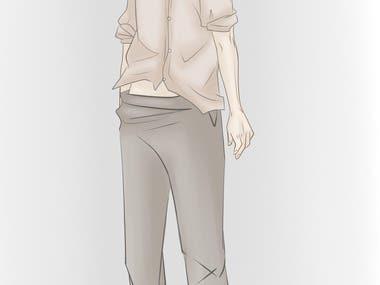 manga art character design