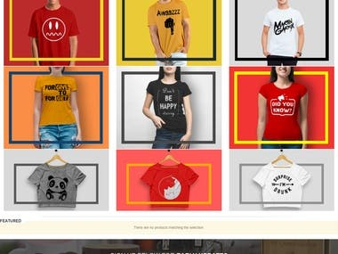 E-Commerce - Online Customization Products