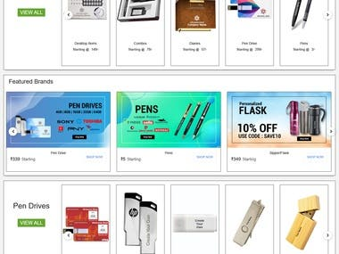 Customize eCommerce Project