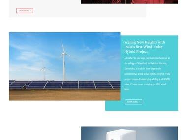 Wind & Solar Grid