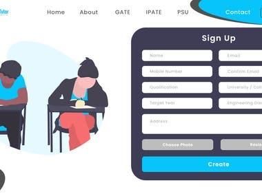 EgateTutor website For CODE.B