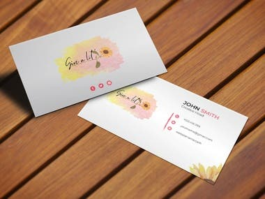 Give a lil' logo & business Card Design for a contest