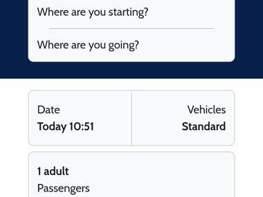 Django web application with responsive forms