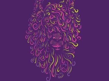 Psychedelic Llama