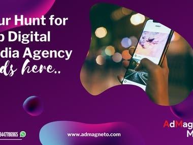 Your Hunt for Best Digital Media Agency Ends Here.