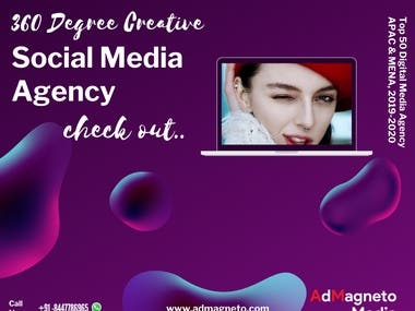 360 degree creatives social media agency check now