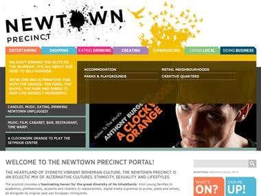 www.newtownprecinct.com