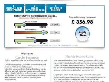 Web Design - Circle Finance