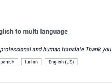 Malti languages translate