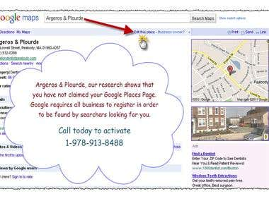 Google Place Card