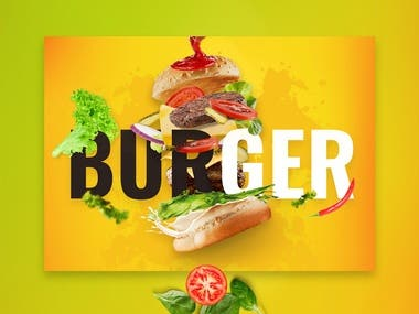 Burger banner