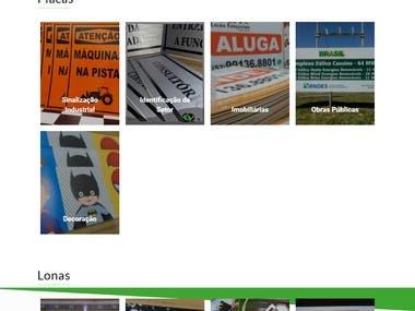 E-Commerce Creative Placas