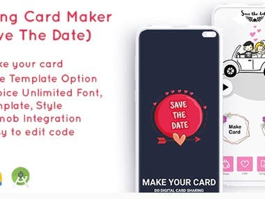 Wedding Card Maker(Save the date) with Admob