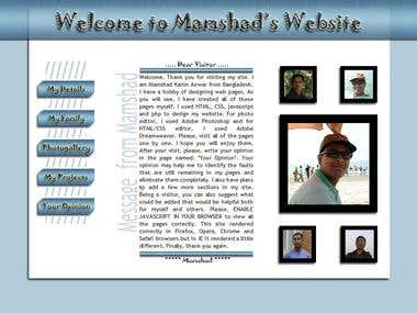 My Website - www.mamshad.com