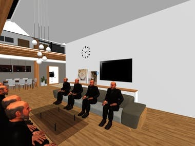 VR Meeting Room