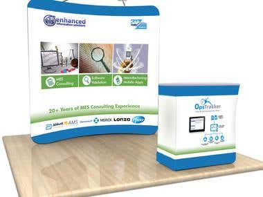 Exhibition Design for Enhanced IS