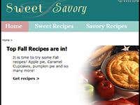 Sweet and Savory Recipe Website