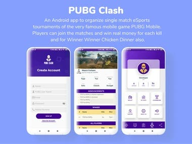 eSports Tournament App for Android