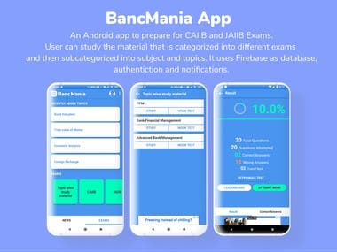 BancMania Android App