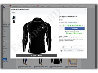 Connect Facebook shop with Woocommerce catalog (Automation)