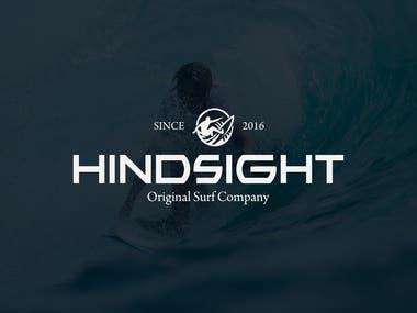 Hindsight Surf Logo