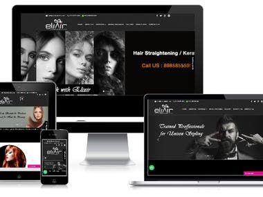 Beauty Saloon Website