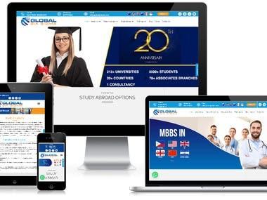 Education Consultant Website