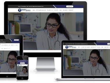 Columbus University Website