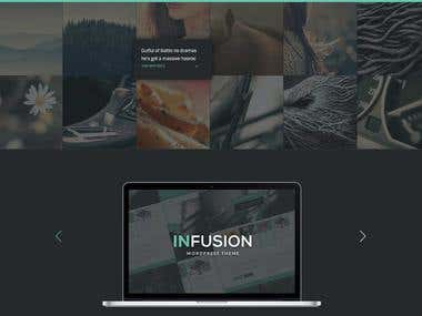 Infusion HTML5 template