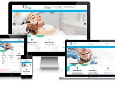 Vsmile Clinic Website