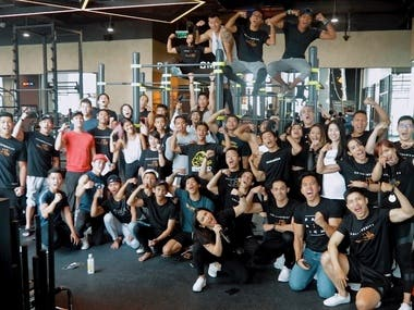 Gym Competition Event @ Paradigm Fitness Indonesia