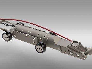 Water jet robot