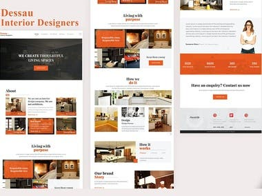 Design and Development of a Website