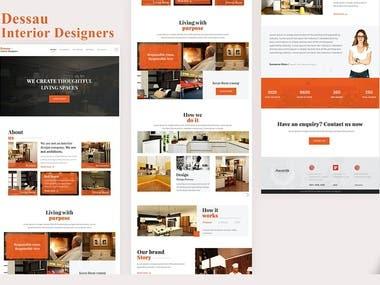 Design and Development of a Website