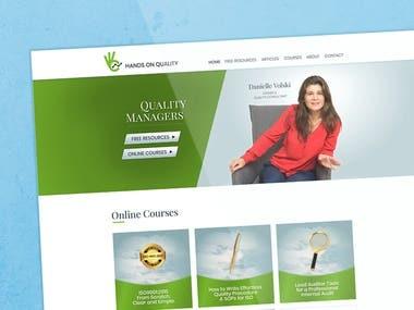 UI/UX Design for Website