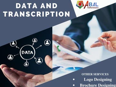 Data Transcription & Other Services