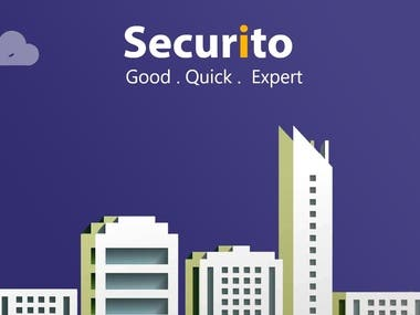 Online security guard service App