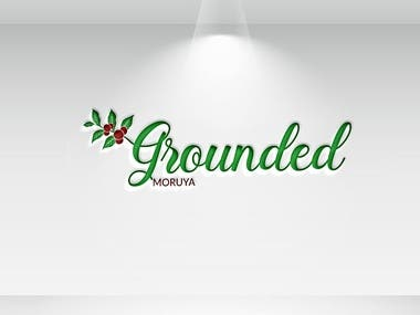 Grounded Moruya Logo Design